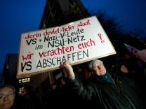 Demonstration der  Initiative 'Keupstraße ist überall'