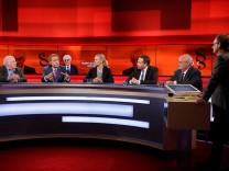 'hart aber fair' Sendung vom 20.04.2015; Plasberg