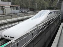 Japans Magnetschwebezug Maglev.