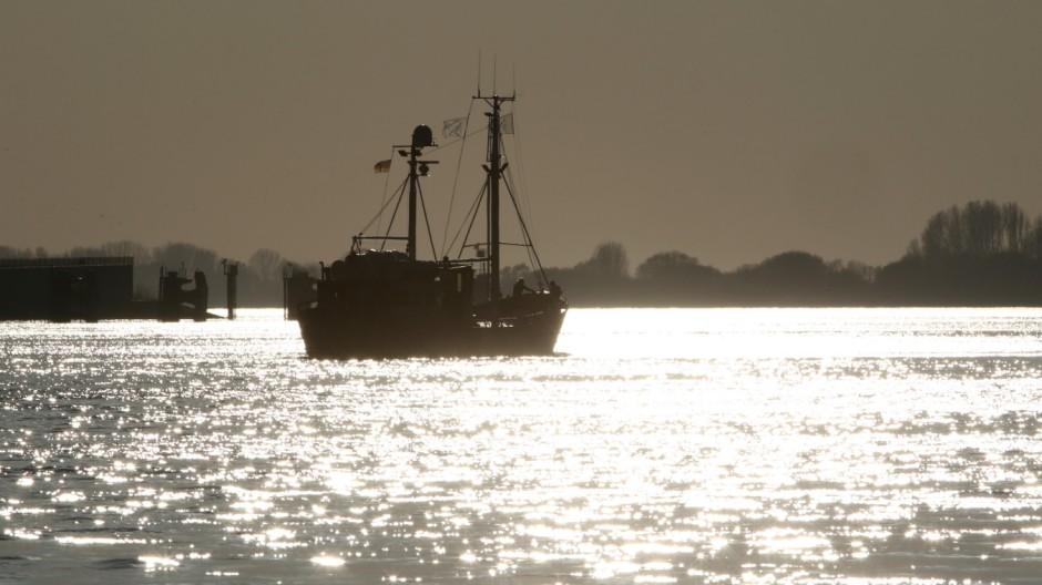 Die 'Sea Watch' verlässt den Hamburger Hafen