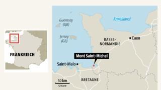 Frankreich Mont Saint-Michel in Frankreich