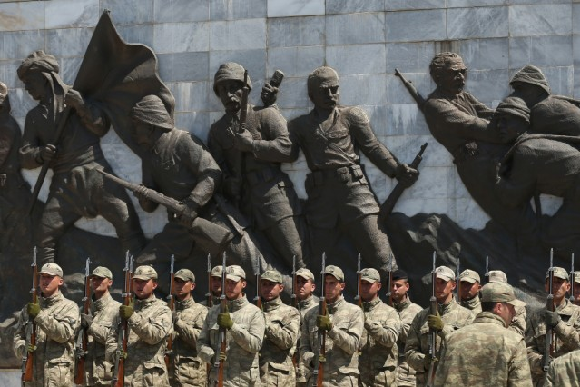 ***BESTPIX*** Gallipoli Prepares For World War I Centenary