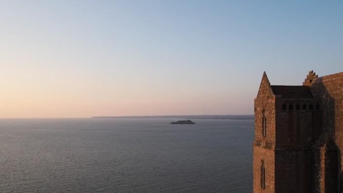 Mont Saint-Michel, Frankreich, Meer