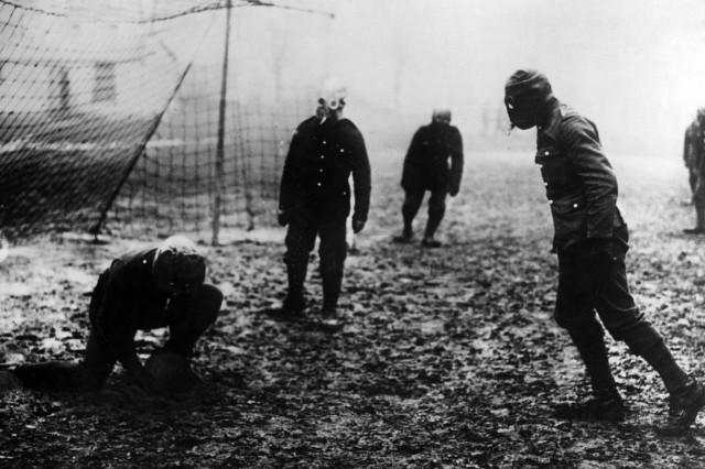 Englische Soldaten im Ersten Weltkrieg, 1917
