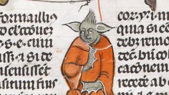 """The Smithsfeld Manuscripts"" British Library Yoda"