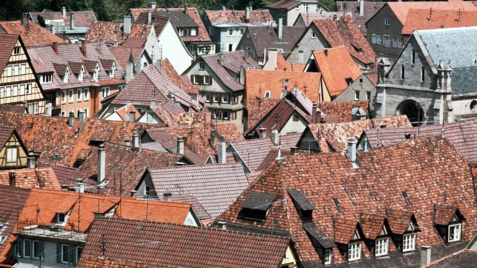 Stadtansicht T¸bingen; Tübingen