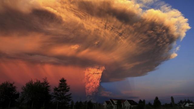 Naturkatastrophe Bedrohung durch Supervulkane
