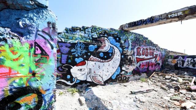 Graffiti Graffiti am alten Viehhofgelände