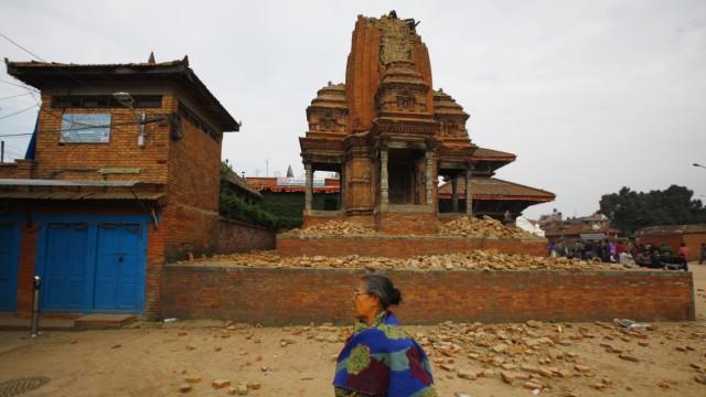 Erdbeben in Nepal Zerstörte Kulturschätze nach Erdbeben