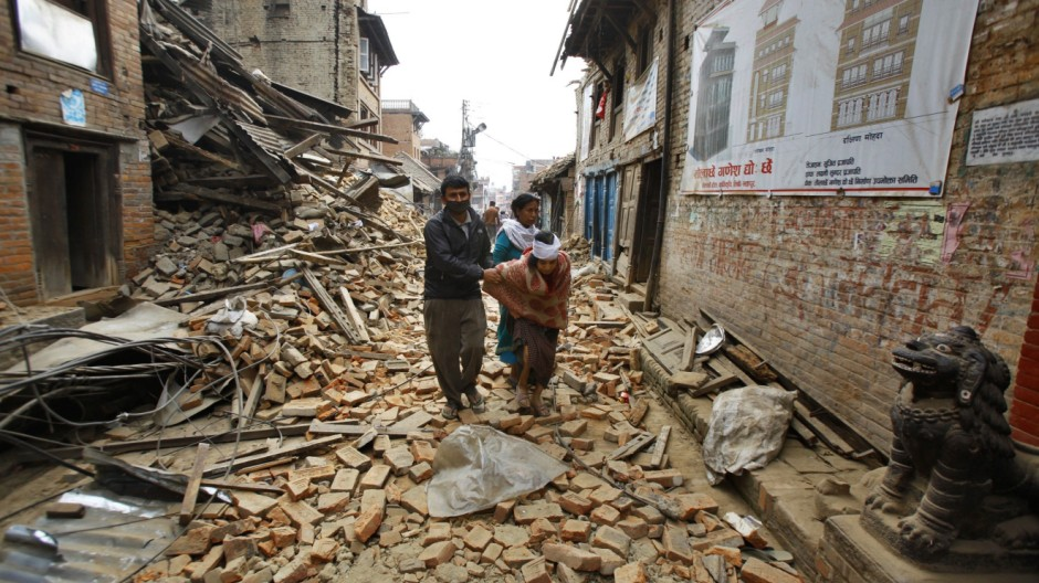 Erdbeben in Nepal Naturkatastrophe im Himalaya