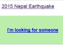Nepal Facebook Security Check Google Person Finder