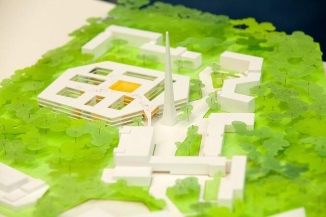Modelle für das neue BR Hauptquartier werden präsentiert