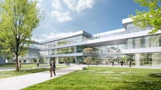 Entwurf für den Bayerischen Rundfunk - Neubau in Freimann