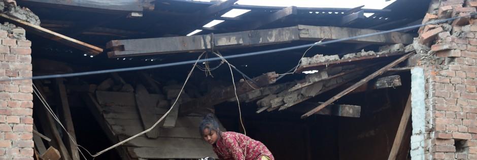Erdbeben in Nepal Erdbebenkatastrophe