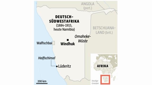 Erster Weltkrieg Herero in Deutsch-Südwestafrika