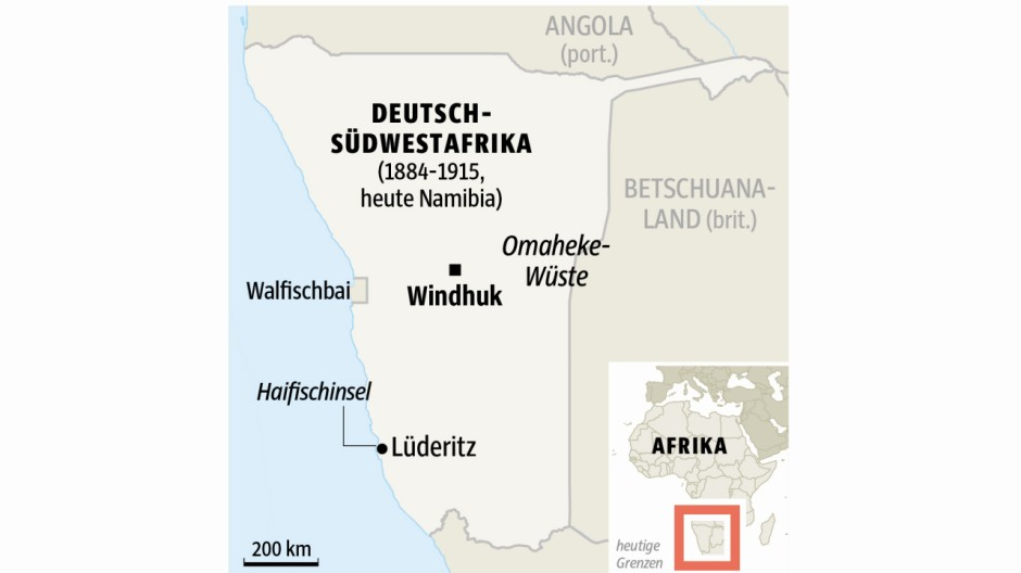 Süddeutsche Zeitung Politik Deutsch-Südwestafrika