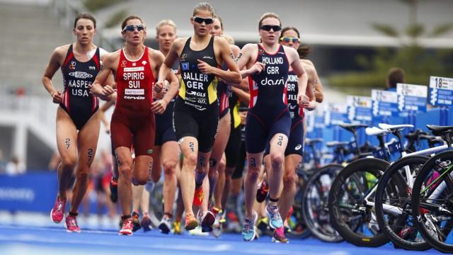 World Triathlon series in Cape Town