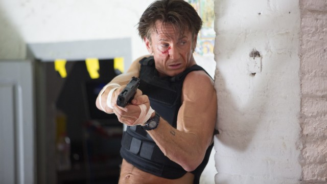 The Gunman; Sean Penn