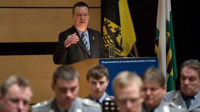 Neujahrsempfang der Bundeswehr in Dresden