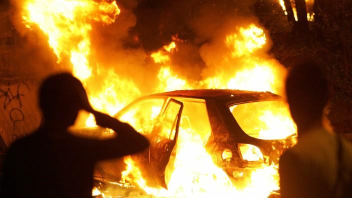 Riots, Paris, 2005