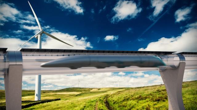 Erste Hyperloop Rohrbahn wird in Kalifornien gebaut