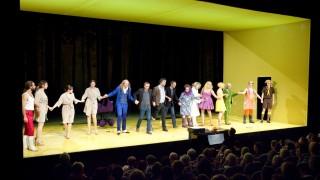 Volkstheater, Schlussapplaus Premiere 'Geschichten aus dem Wiener Wald' von Ödön von Horv‡th