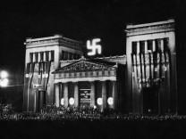 Hermann Göring spricht zur Volksabstimmung in München, 1934