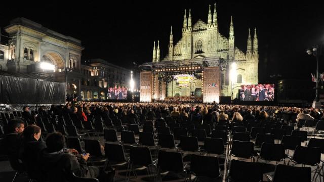 Eröffnungsfeier der Expo 2015 in Mailand.