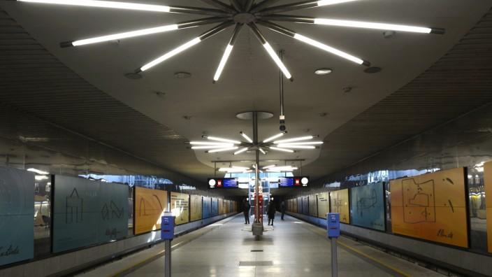 U-Bahn Station Garching Forschungszentrum