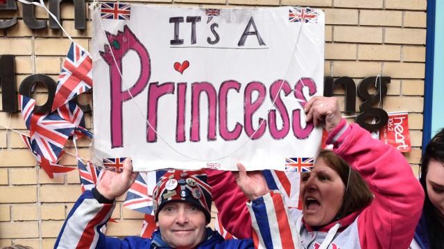Royal Baby Britisches Königshaus