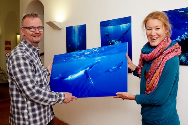 Naturfoto-Ausstellung one second