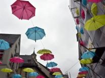 Schirme in Augsburg
