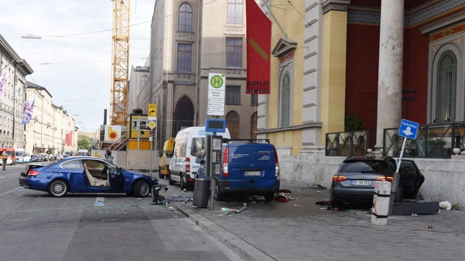 München Unfall vor Oper
