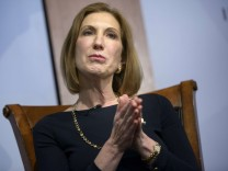 Carly Fiorina US-Wahlkampf Hewlett-Packard