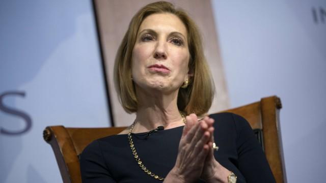 Former HP CEO Fiorina announces White House bid