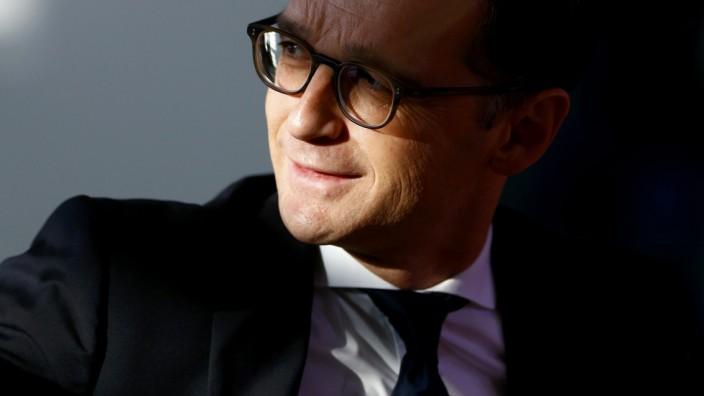 German Justice Minister Maas arrives for weekly cabinet meeting in Berlin