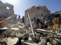 Saudi Arabia leads strikes in Yemen
