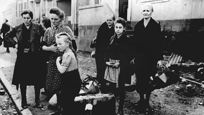 Ende Zweiter Weltkrieg - Flüchtlinge