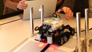 Garching Robotik-Wettbewerb in Garching