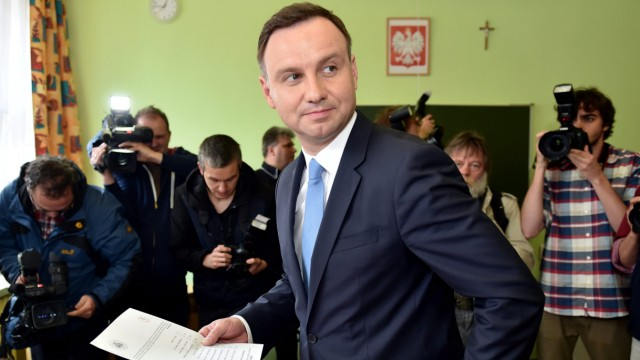 Poland's presidential elections - voting
