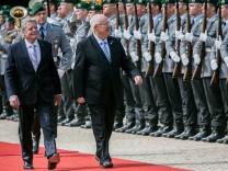 Israeli President Rivlin Visits Berlin