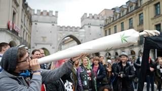 Demo des Hanfverbandes