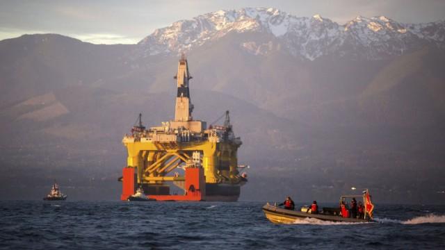 Shell Erdölförderung