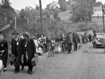 Sudetendeutsche in Liberec im Sommer 1946  Vertreibung 2. Weltkrieg