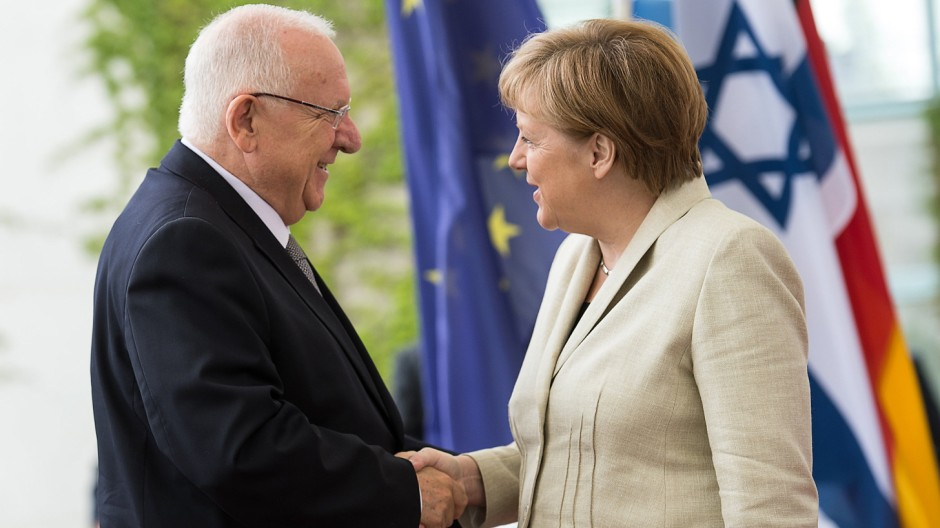 Israelischer Präsident Reuven Rivlin in Berlin
