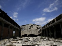 Wider Image: Ghost Factories Of Greece
