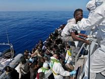 220 Flüchtlinge auf dem Mittelmeer gerettet