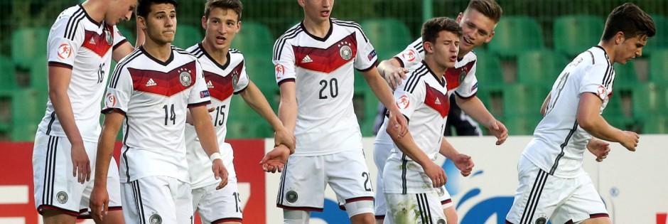 12 05 2015 Stara Zagora Bulgaria Germany Czech Republic European Under 17 championship men s footba