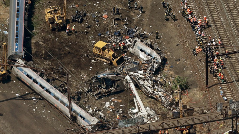 Amtrak Train Derailment Causes Mass Injuries In Philadelphia
