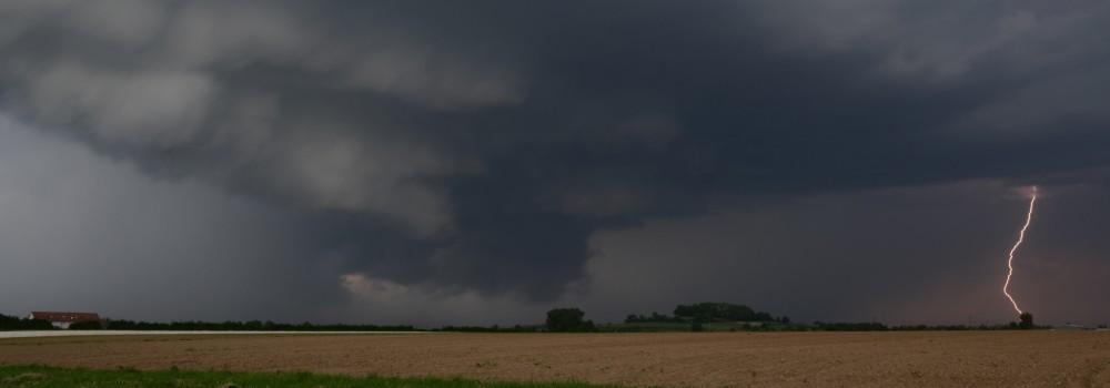 Unwetter in Südbaden